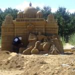 Kaplica Królewska - podczas pracy