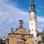 Wejście główne do klasztoru na Jasnej Górze