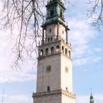 Wieża klasztoru na Jasnej Górze