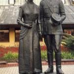 Pomnik Rodziców Jana Pawła II na Jasnej Górze