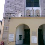 Wejście główne do kościoła p.w. św. Stanisława Kostki w Warszawie