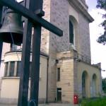 Fragment kościoła p.w. św. Stanisława Kostki w Warszawie