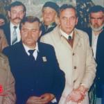 Od prawej: Gwiazda, Mazowiecki, Wałęsa