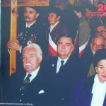 Prezydent RP na uchodźstwie Ryszard Kaczorowski z małżonką