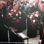 Kard. Wiliam Lewoda, prefekt Kongregacji Nauki Wiary; Angelo Amato, prefekt Kongregacji ds. Kanonizacyjnych; Abp Kazimierz Nycz
