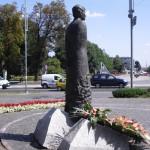 Pomnik ks. Jerzego Popiełuszki w Częstochowie