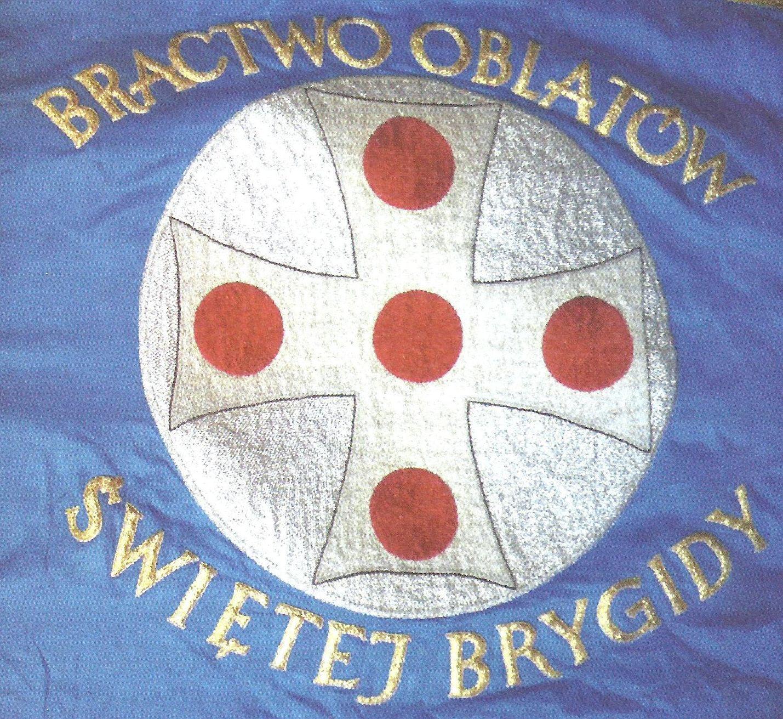 1 - sztandar BRACTWA OBLATÓW ŚWIĘTEJ BRYGIDY