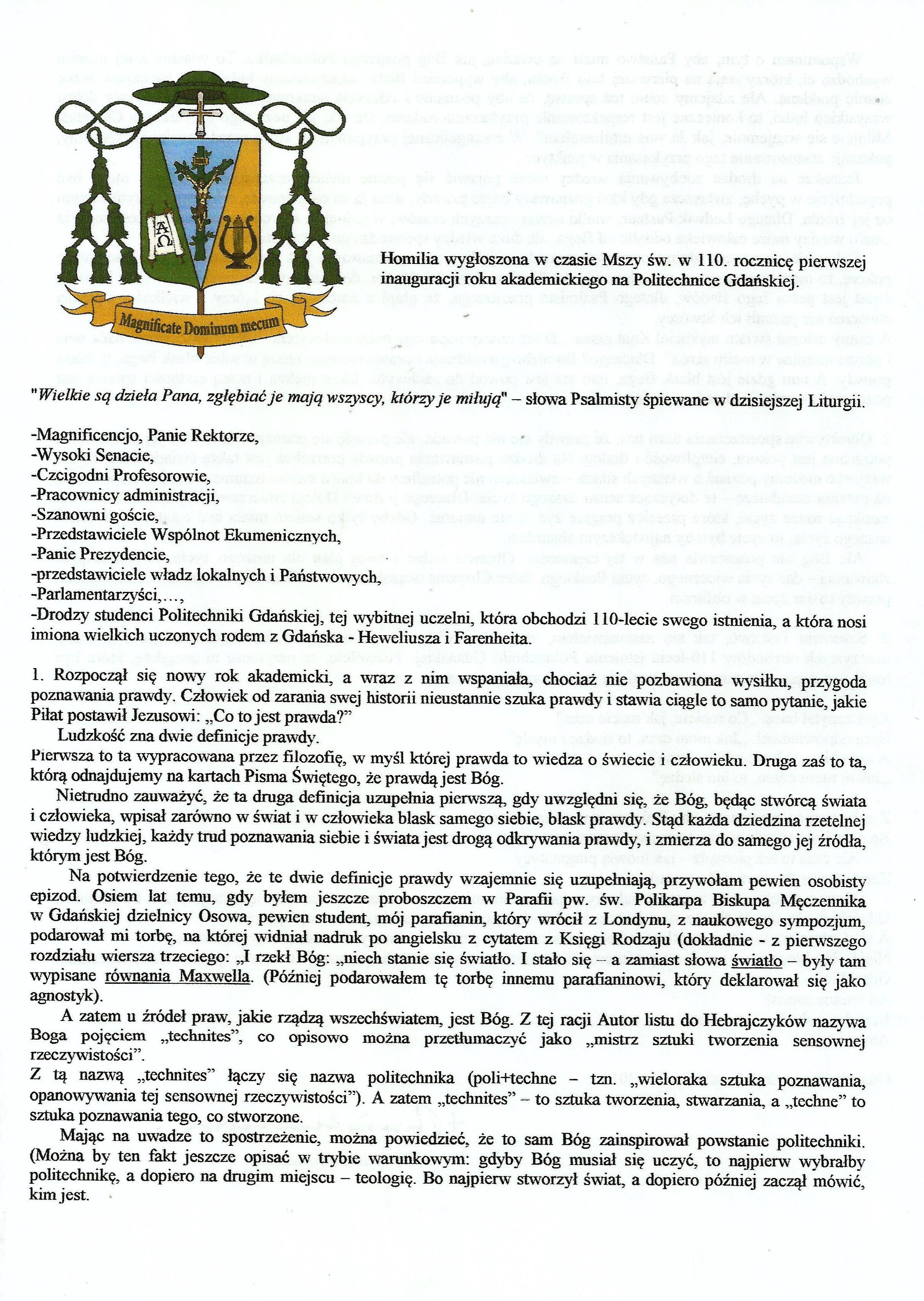 CO TO JEST PRAWDA - bp Wiesław Szlachetka0001