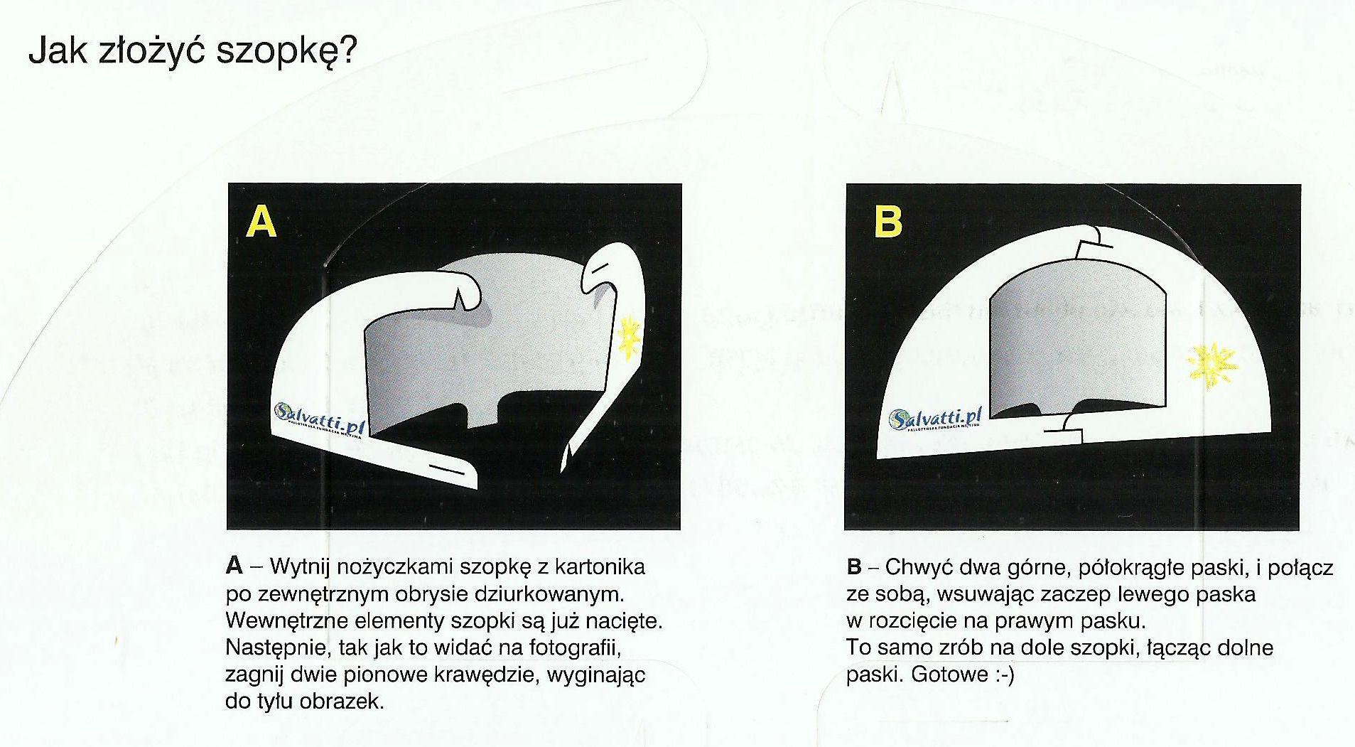 4. jakzłożyć szopkę